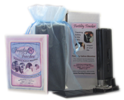 Fertility Tracker ferning saliva microscope ovulation monitor